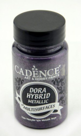 Cadence Dora Hybride metallic verf donker Orchidee 01 016 7139 0090 90 ml