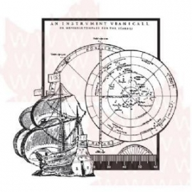 Ship And Compass - Clear Magic - ADS504