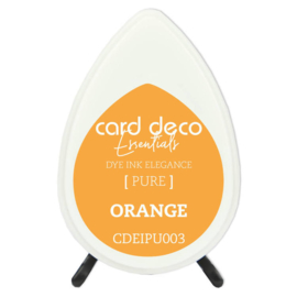 Card Deco Essentials Fade-Resistant Dye Ink Orange  CDEIPU003