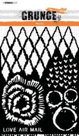 Studio Light Mask Stencil Grunge Collection nr.19 SL-GR-MASK19 A5