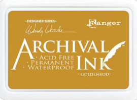 Ranger Archival Ink pad - Goldenrod AID73987 Wendy Vecchi