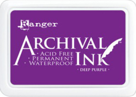 Ranger - Archival Ink Pads - Deep Purple AIP30430