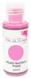 Pink Ink Multi Surface Paint Moroccan Rose Lustre