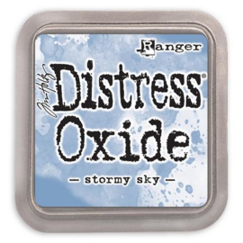 Ranger Distress Oxide Ink Pad - Stormy Sky TDO56256