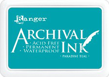 Ranger - Archival Ink Pad - Paradise Teal AIP52500