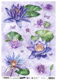 Studio Light Rice Paper A4 vel Jenine's Mindful Art 5.0 nr.33 RICEJMA33
