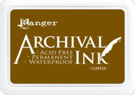 Ranger - Archival Ink Pads - Coffee AIP31451