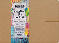 DYLUSIONS™ CREATIVE FLIP JOURNAL - LARGE  DYJ53583