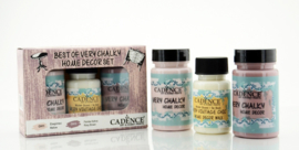 Cadence Very Chalky Home Decor set Mallow - Rosy brown 01 002 0006 909050 90+90+50 ml