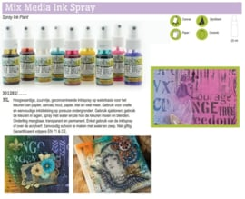 Cadence Mix Media Inkt spray