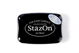 Stazon inktkussen Jet Black SZ-000-031