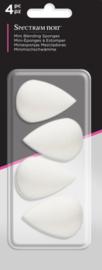 Spectrum Noir Mini blending sponsjes a 4 stuks