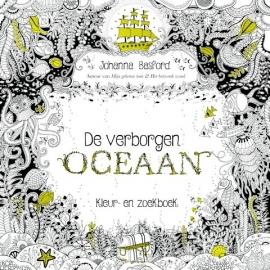 Kosmos Boek De verborgen oceaan -kleur- en zoekboek Johanna Basford