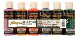 Stamperia Allegro Paint Kit Sir Vagabond in Japan (6pcs) (KALKIT05)