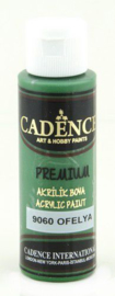 Cadence Premium acrylverf (semi mat) Ophelia groen 01 003 9060 0070 70 ml