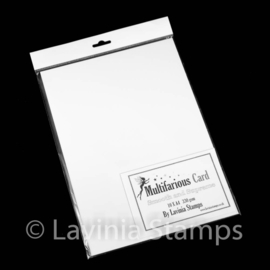 Lavinia Multifarious Card – A4 White