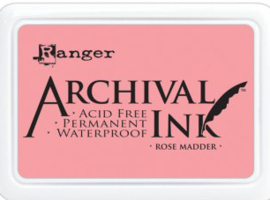 Ranger - Archival Ink Pads - Rose Madder AIP30638