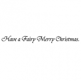 Fairy Merry Christmas LAV130