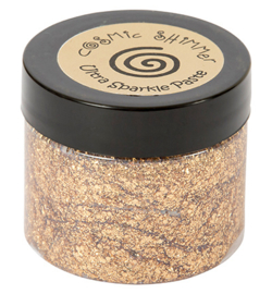 Cosmic Shimmer Ultra Sparkle Texture Paste Sahara Gold
