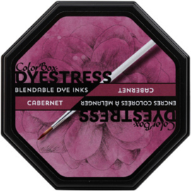 Clearsnap ColorBox Dyestress Blendable Dye Ink Full Size Cabernet (23123)
