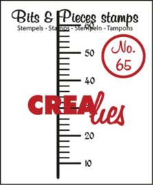 Crealies Clearstamp Bits&Pieces no. 65 13x60mm / CLBP65