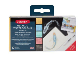 Derwent Metallic Paint Pan Set DMP2305657