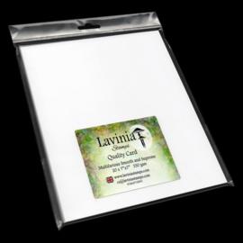 Lavinia Multifarious Card – 7×7″ White
