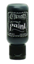 Ranger Dylusions Paint Flip Cap Bottle 29ml - Black Marble DYQ70375