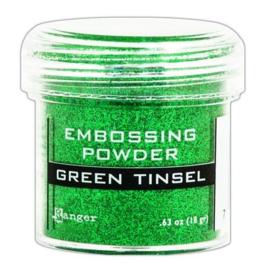 Ranger Embossing Powder 34ml - green tinsel EPJ41054