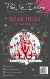Pink Ink Designs Clear Stamp Bear Hugs A5  PI039