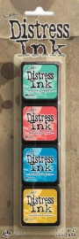 Mini Distress Pad Kit 13