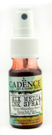 Cadence Mix Media Inkt spray Rood 01 034 0016 0025 25 ml