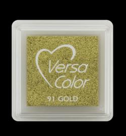 VersaColor Small 	Inkpad-Gold VS-000-091
