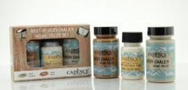 Cadence Very Chalky Home Decor set Kasjmier - Veneto 01 002 0009 909050 90+90+50 ml
