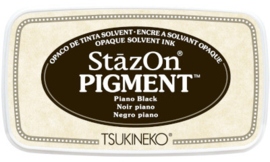 StazOn Pigment Piano Black  SZ-PIG-31 75 x 35mm