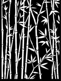 Stamperia Thick Stencil 15x20cm Sir Vagabond in Japan Bamboo (KSAT17)