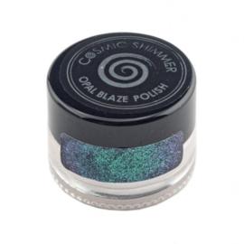 Cosmic shimmer opal blaze polish Teal raspberry