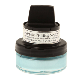 Metallic Gilding Polish Powder Blue