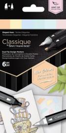"Spectrum Noir Classique ""Hint Of"" (6 stuks) - Elegant Hues"