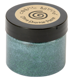 Cosmic Shimmer Ultra Sparkle Texture Paste Hunter Green