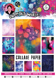 ABM-OOTW-PP14 ABM Collage Paper Pattern Paper Out Of This World nr.14