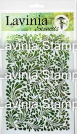 Feather Leaf – Lavinia Stencils ST014