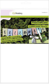 CraftEmotions Synthetisch papier - PolyCraftCard wit 50 vl A4 - 230 gr