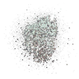 Cosmic Shimmer Glitterbitz Silver Chrome