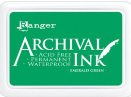 Ranger - Archival Ink Pads - Emerald Green AIP30447