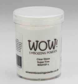 Wow! large - 160ml Clear Gloss WA01SFL Super Fine