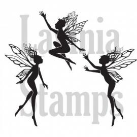 Three small Dancing Fairies LAV136a