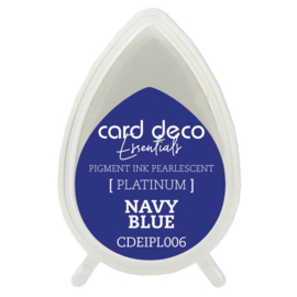 Card Deco Essentials Fast-Drying Pigment Ink Pearlescent Navy Blue  CDEIPL006