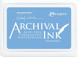 Ranger Archival Ink pad - Periwinkle AID74014 Wendy Vecchi