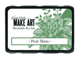 Ranger MAKE ART Dye Ink Pad Peat Moss WVD64343 Wendy Vecchi